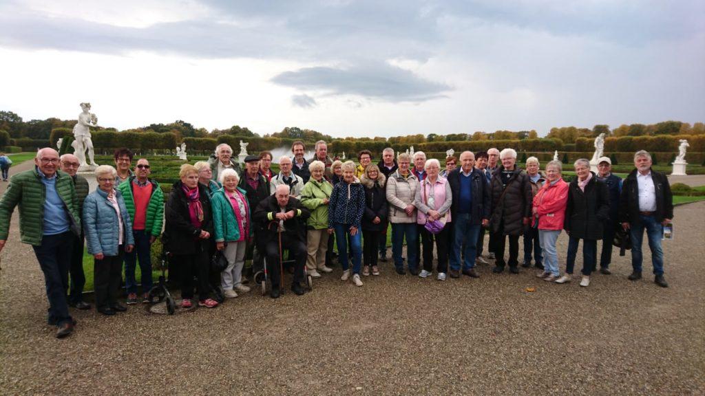 Gruppenfoto in den Herrenhäuser Gärten